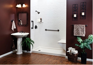 bathroom showers striking example